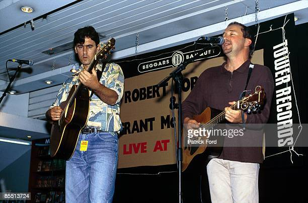 Photo of GOBETWEENS and GO BETWEENS LR Robert Forster Grant McLennan