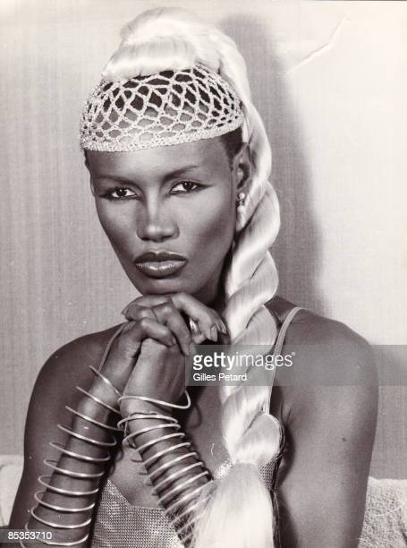 Photo of Grace JONES posed