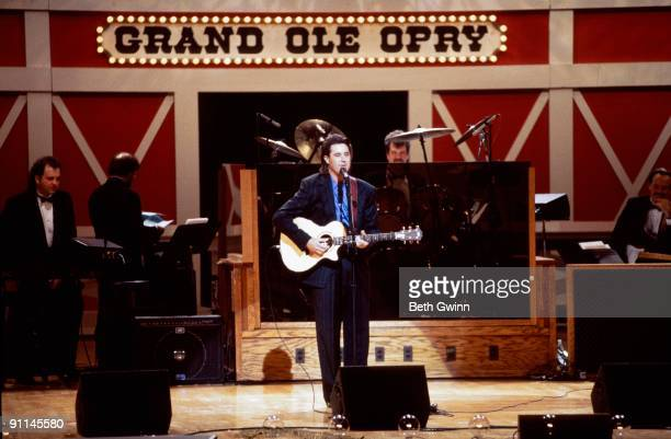 USA Photo of GRAND OLE OPRY and NASHVILLE and Vince GILL Vince Gill onstage at Grand ole Opry