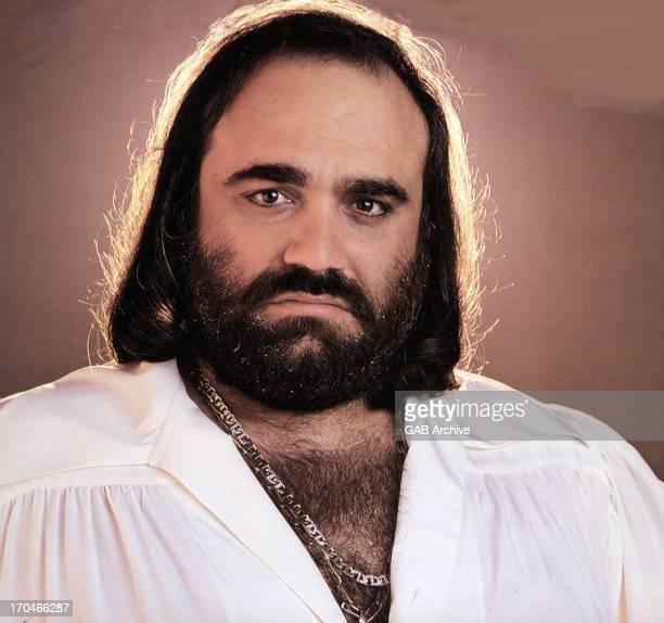 Photo of Greek singer Demis Roussos posed circa 1975
