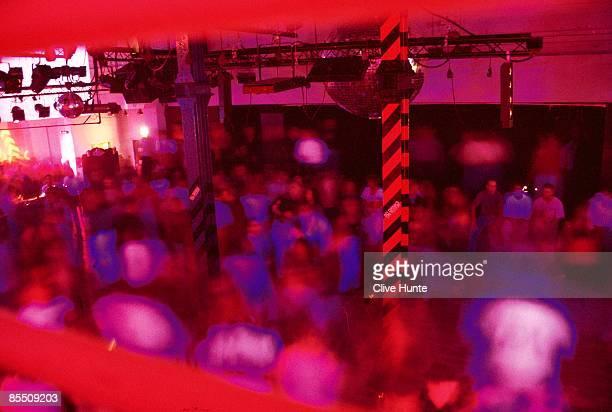 Photo of HACIENDA CLUB Nightclub dancers in the famous Hacienda club