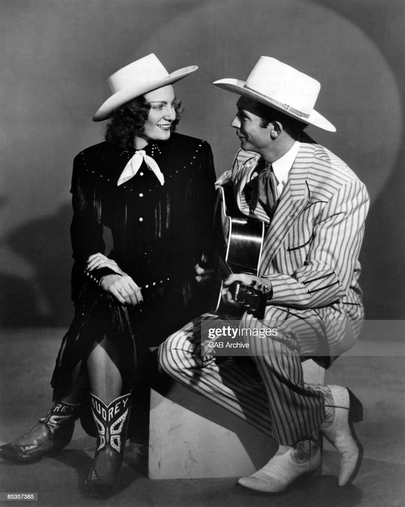 USA Photo of Hank WILLIAMS, with his wife Audrey
