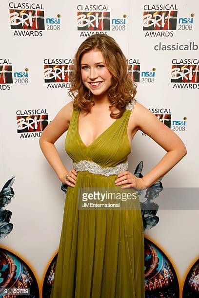 HALL Photo of Hayley WESTENRA Portrait of Hayley Westenra backstage at the Classical Brit Awards