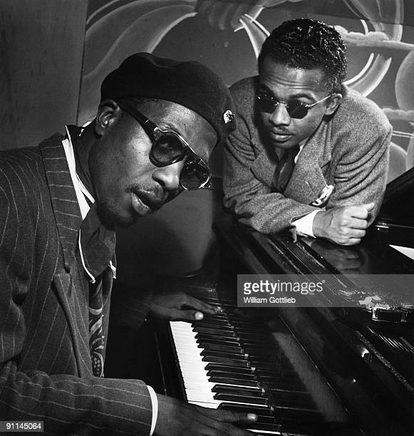 Photo of Howard McGHEE and Thelonious MONK with Howard McGhee