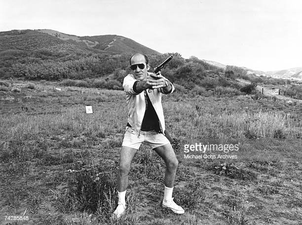 Photo of Hunter S Thompson Photo by Michael Ochs Archives/Getty Images