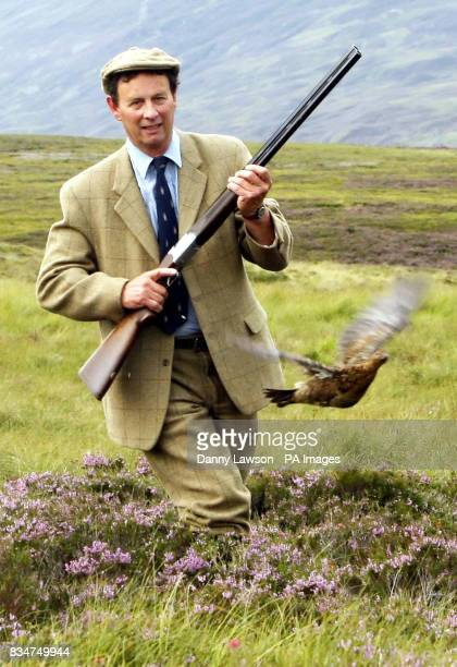 STANDALONE photo of Ian McCall Game and Wildlife Conservation Trust Director Scotland on the Ralia and Milton estate ahead of the start of the grouse...