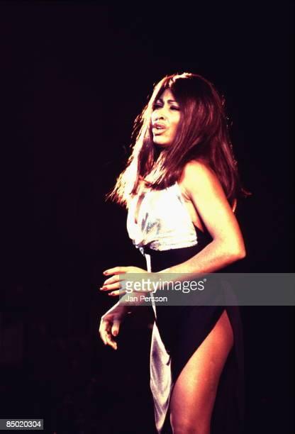 Photo of Ike Tina TURNER and Tina TURNER Ike Tina Turner era performing live onstage