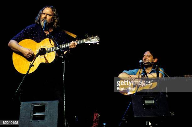 Photo of INCREDIBLE STRING BAND Robin Williamson and Mike Heron