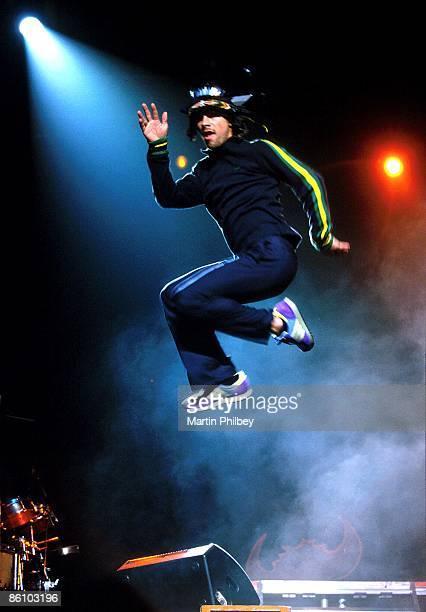 Photo of JAMIROQUAI Jamiraquoi front man Jay Kay Melbourne Park Melbourne Australia