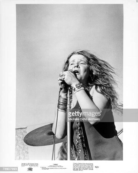 Photo of Janis Joplin San Jose Pop Festival circa 1969