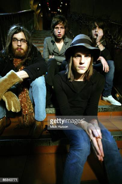 Photo of Jared FOLLOWILL and Matthew FOLLOWILL and Nathan FOLLOWILL and KINGS OF LEON and Caleb FOLLOWILL LR Nathan Followill Matthew Followill Caleb...
