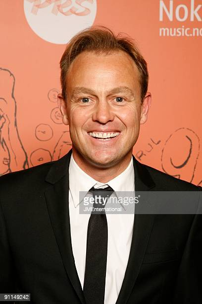 HOTEL Photo of Jason DONOVAN posed at the 2008 Music Industry Trusts Award Dinner