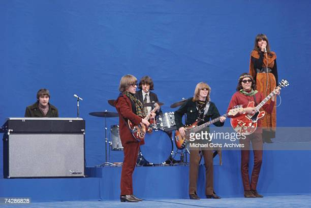 Photo of Jefferson Airplane May 1967 California Los Angeles Jefferson Airplane LR Marty Balin Paul Kantner Spencer Dryden Jack Casady Jorma Kaukonen...