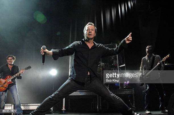 Photo of Jim KERR and SIMPLE MINDS Jim Kerr performs live on stage