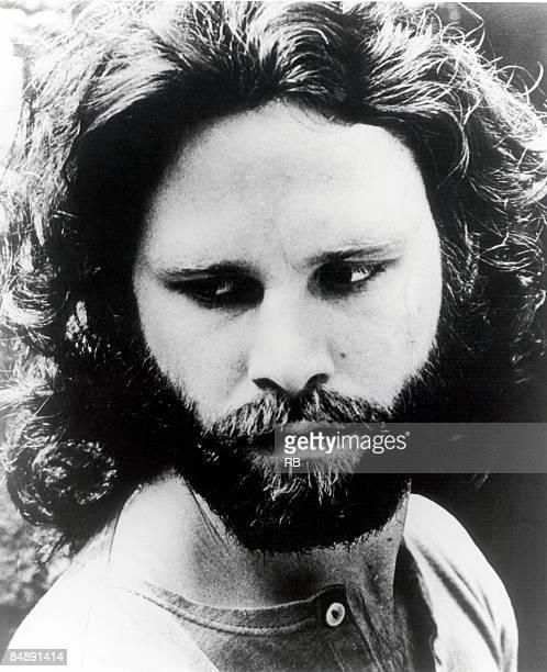 Photo of Jim MORRISON and DOORS Posed portrait of Jim Morrison circa 1968
