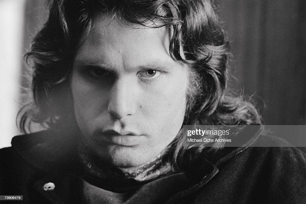 Photo of Jim Morrison. December 21 1967 California Los Angeles Doors
