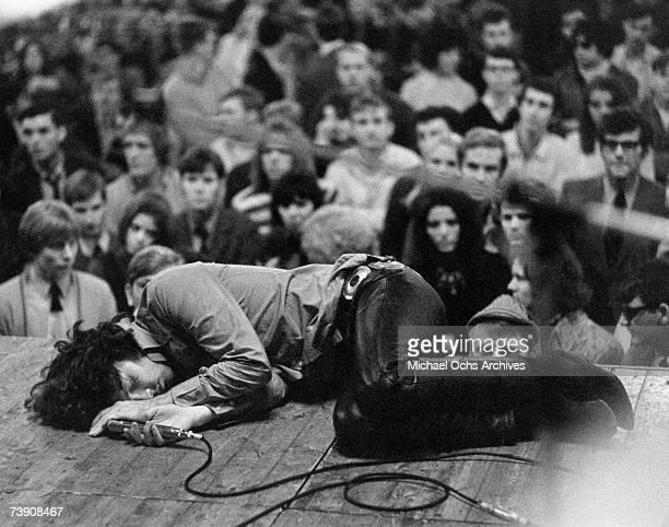 Photo of Jim Morrison Sept 1968 Frankfurt Germany