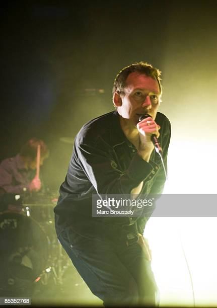 ACADEMY Photo of Jim REID and JESUS MARY CHAIN Jim Reid performing live onstage