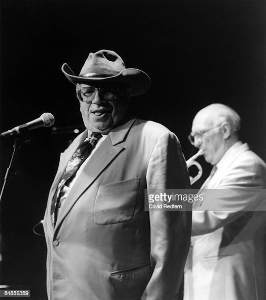 SCOTTS Photo of John CHILTON and George MELLY on stage with John Chilton
