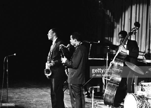 OUT Photo of John Coltrane 1961 8 John ColtraneEric Dolphy Art DavisCopenhagen 1961