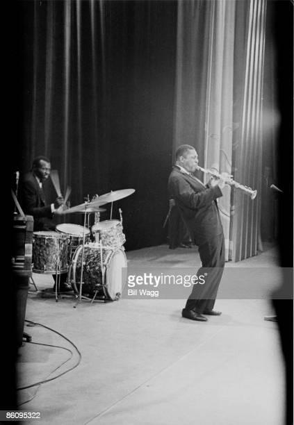 HALL Photo of John COLTRANE John Coltrane performing on stage