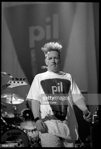 Photo of John LYDON and PUBLIC IMAGE LTD John Lydon performing at Roseland