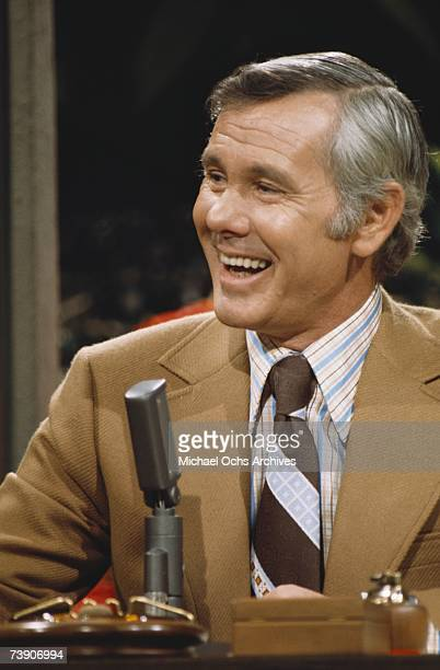 Photo of Johnny Carson Mid 1970s California Burbank The Tonight ShowJohnny Carson