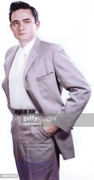 Photo of Johnny CASH Posed portrait of Johnny Cash