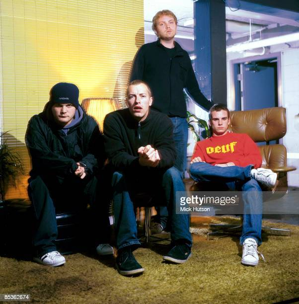 Photo of Jonny BUCKLAND and COLDPLAY and Chris MARTIN and Guy BERRYMAN and Will CHAMPION LR Will Champion Chris Martin Jonny Buckland Guy Berryman...