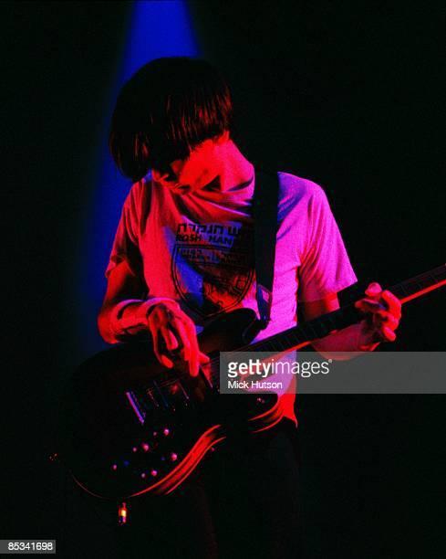 Photo of Jonny GREENWOOD and RADIOHEAD Jonny Greenwood performing live onstage with Radiohead