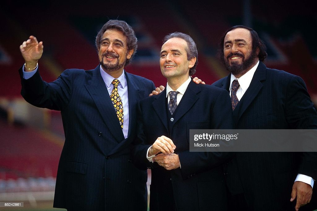 Photo of Jose CARRERAS and Placido DOMINGO and Luciano PAVAROTTI and THREE TENORS