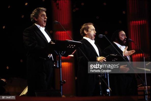 Photo of Jose CARRERAS and Placido DOMINGO and Luciano PAVAROTTI and THREE TENORS