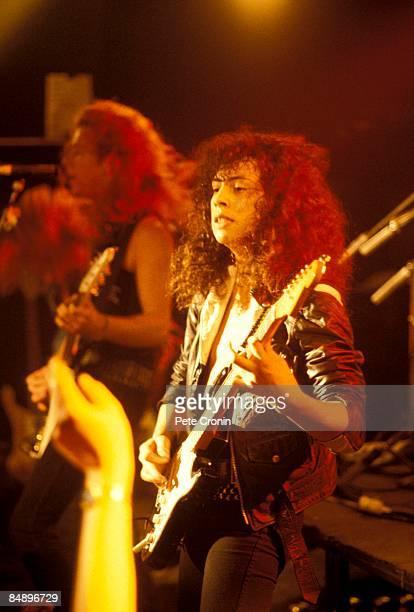 FESTIVAL Photo of Kirk HAMMETT and METALLICA Kirk Hammett performing live onstage