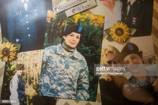 A photo of Kristina Emard in uniform at her mother Ann Howgate's home Howgate spoke about how excited her daughter was to be in the military and how...