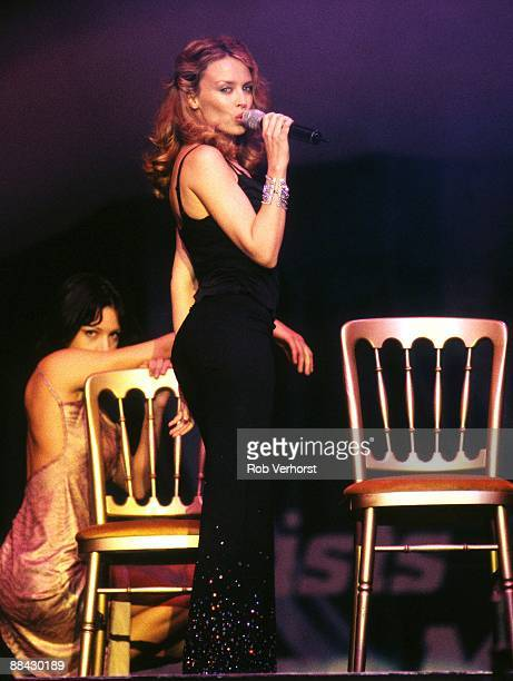 POP Photo of Kylie MINOGUE performing live onstage