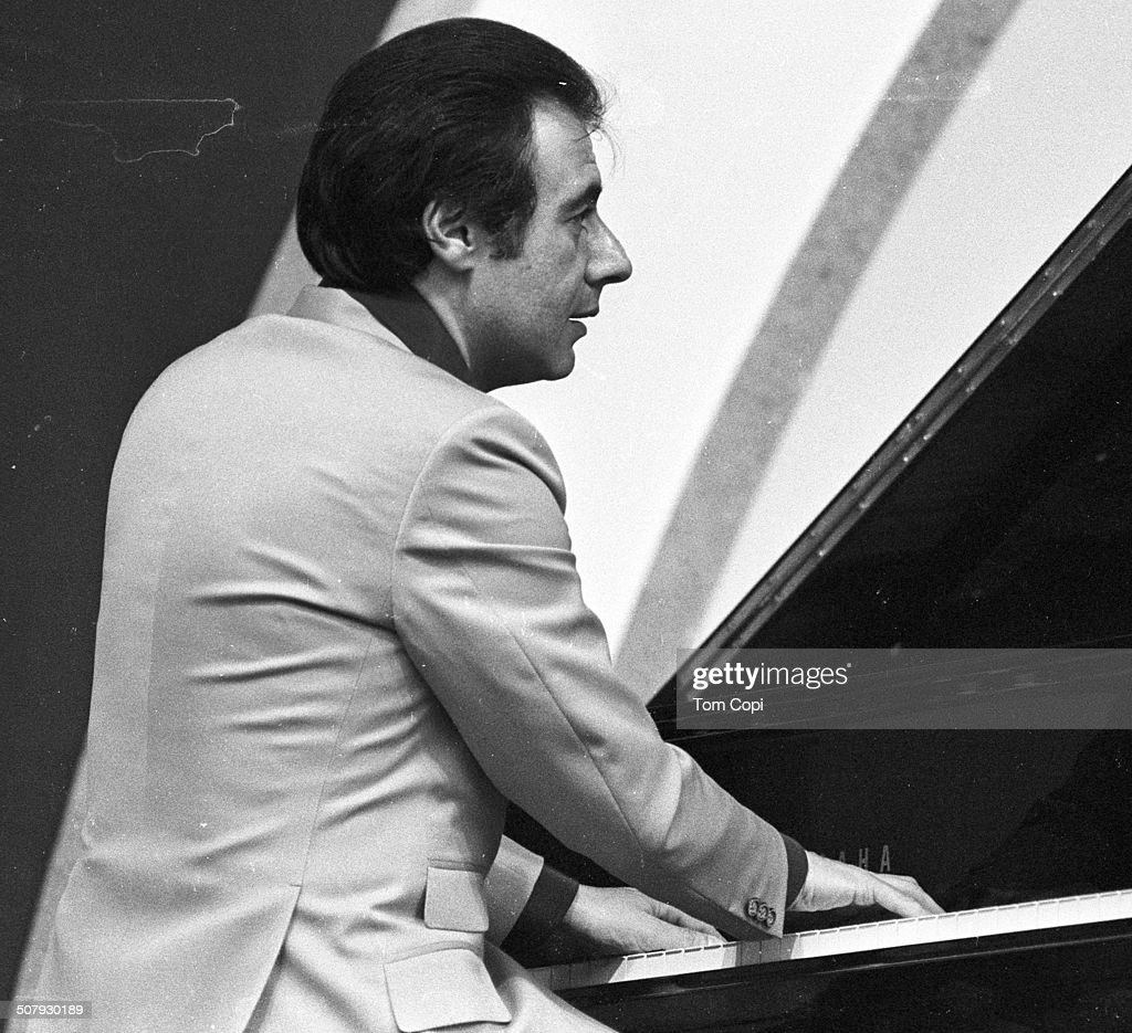 Photo of Lalo Schifrin performing in Hollywood California Circa 1981