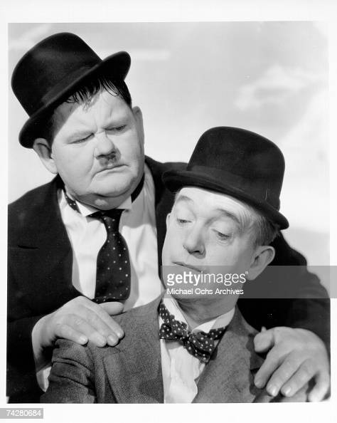 Photo of Laurel Hardy Photo by Michael Ochs Archives/Getty Images