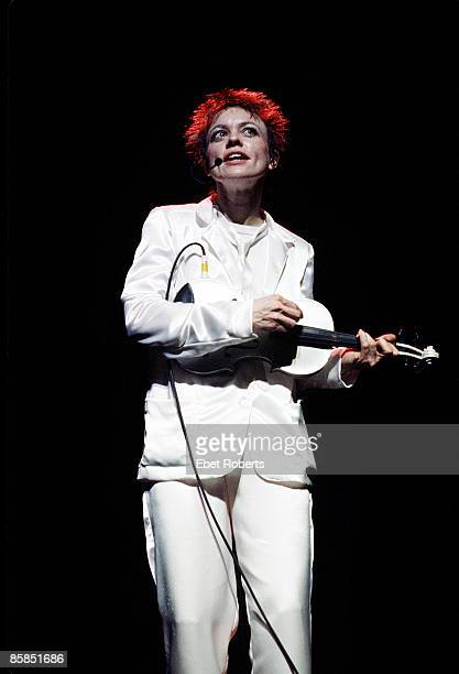 THEATER Photo of Laurie ANDERSON performing live onstage