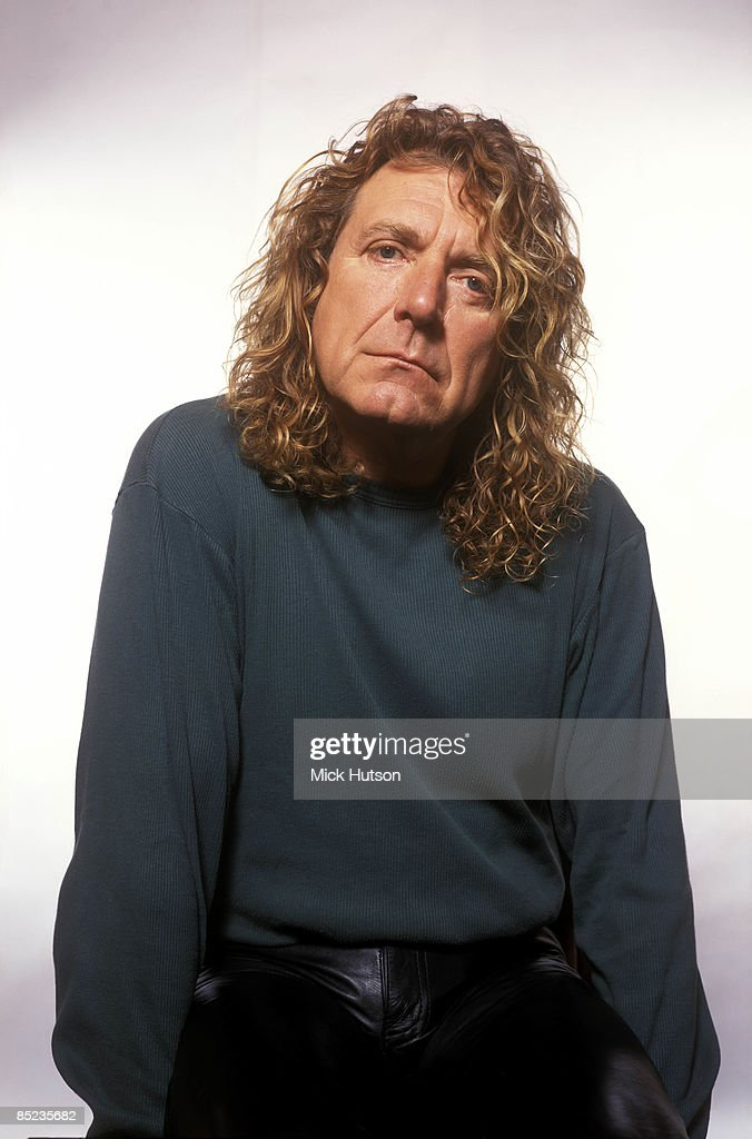 Photo of LED ZEPPELIN and Robert PLANT; posed session of Robert Plant, singer from Led Zeppelin