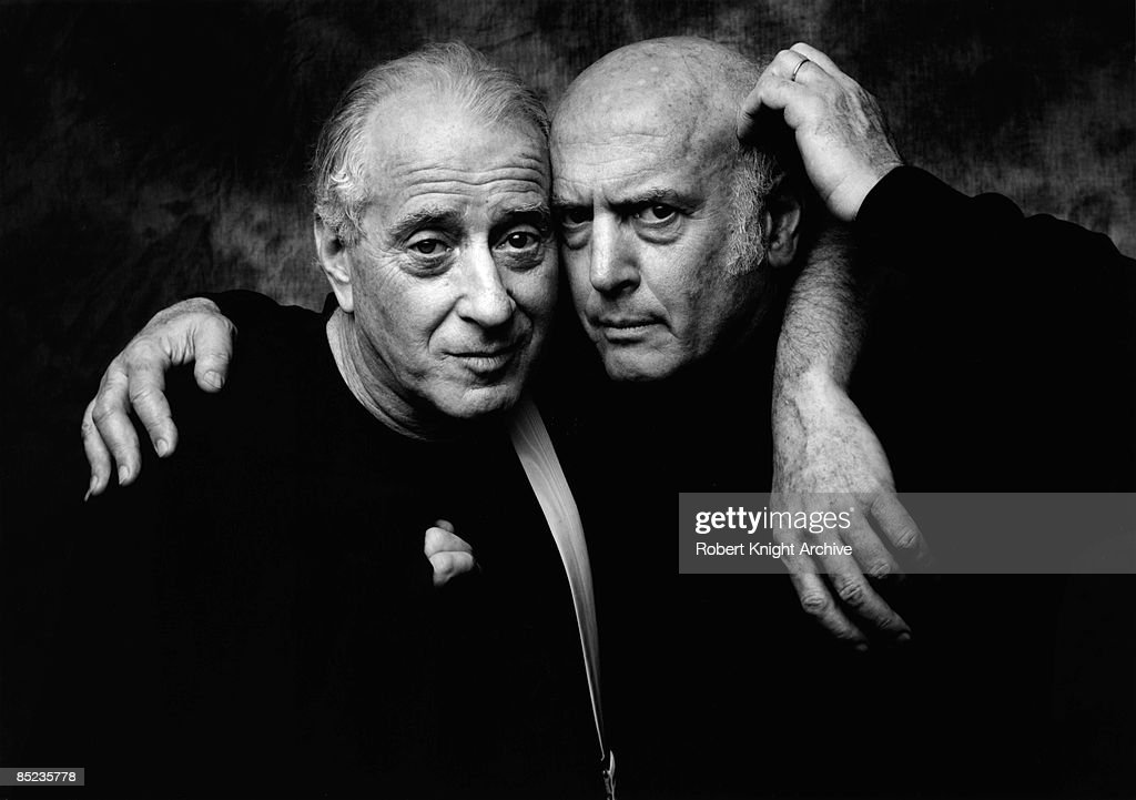 Photo of LEIBER & STOLLER; Jerry Leiber & Mike Stoller