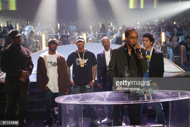 COURT Photo of Lemar Lemar Neptunes 2004 BRITs Podium