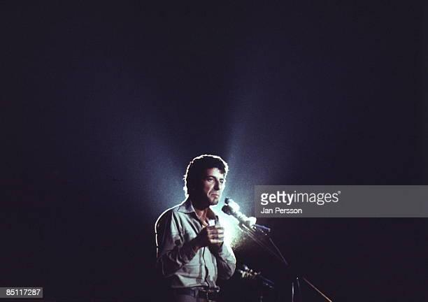 Photo of Leonard COHEN Leonard Cohen performing live onstage
