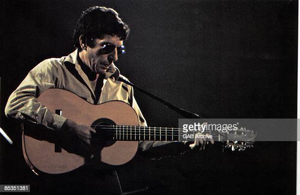 Photo of Leonard COHEN performing live on stage