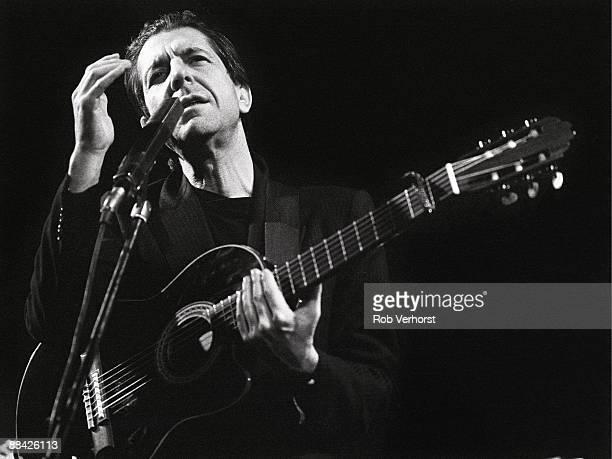 ROTTERDAM Photo of Leonard COHEN performing live onstage at De Doelen