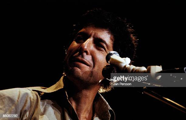 Photo of Leonard COHEN performing live onstage