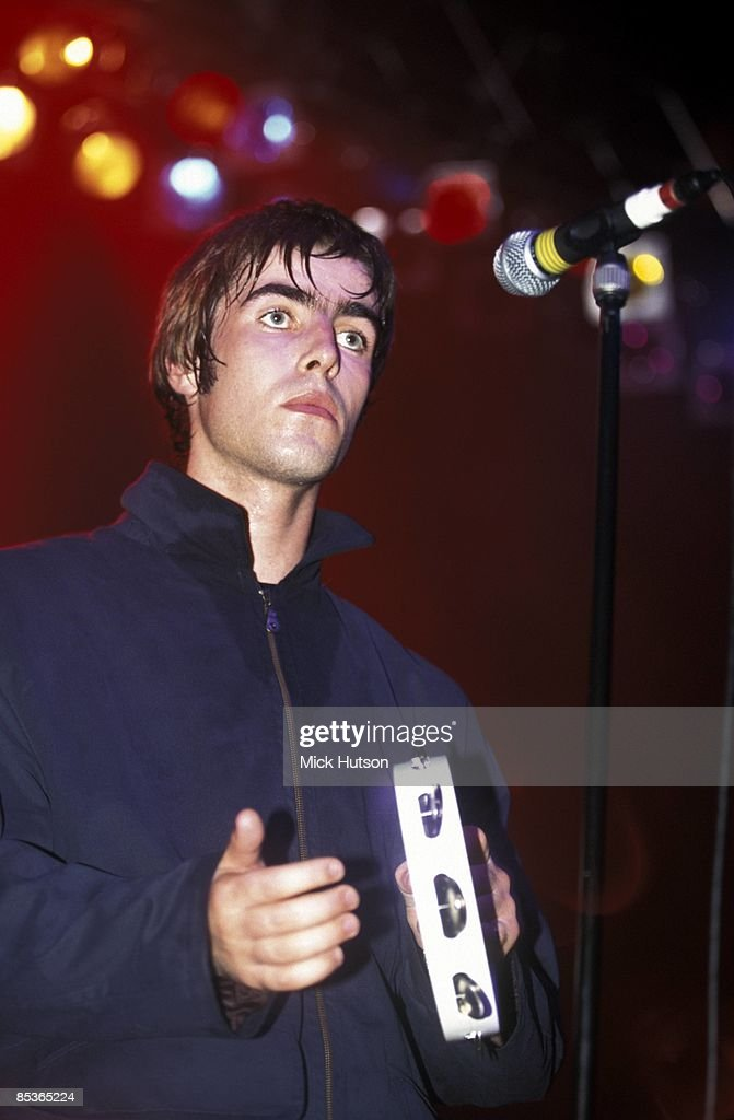 ASTORIA Photo of Liam GALLAGHER and OASIS, Liam Gallagher performing live onstage