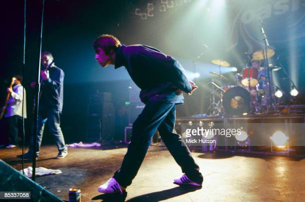ASTORIA Photo of Liam GALLAGHER and OASIS Liam Gallagher performing on stage
