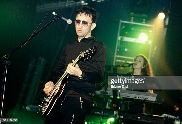 Photo of LIGHTNING SEEDS and Ian BROUDIE Ian Broudie performing on stage