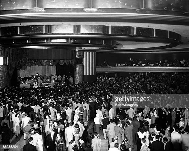 HOLLYWOOD Photo of Lionel HAMPTON opening night at the Hollywood Palladium