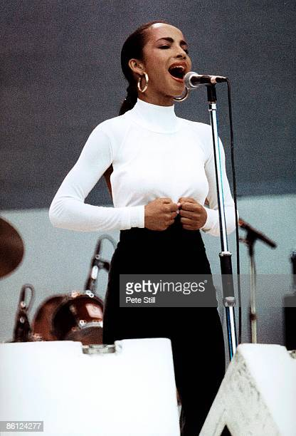 AID Photo of LIVE AID and SADE